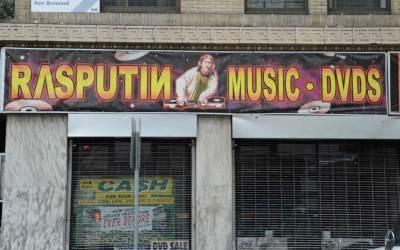 Rasputin Music & DVD's – San Francisco On Powell Street