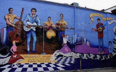 The International Rockabilly Hall of Fame In Jackson Tennessee