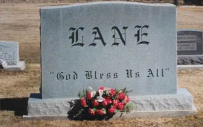 Buried Here – Ronnie Lane, Co-Founder Of The Small Faces