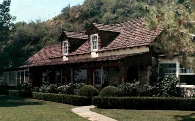 Sharon Tate House, Also Used By Trent Reznor & Marilyn Manson