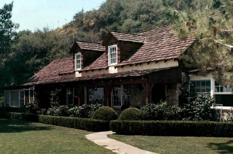 Sharon Tate House Also Used By Trent Reznor Marilyn Manson