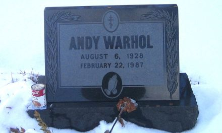 Buried Here – Andy Warhol, Producer, Designer And Painter