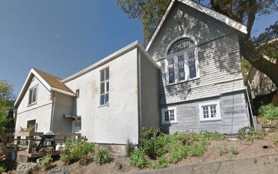 The Church Studio Former Location In San Anselmo California