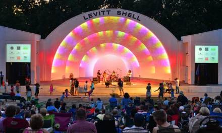 The Levitt Shell, Memphis – Considered First Venue For A Rock Concert