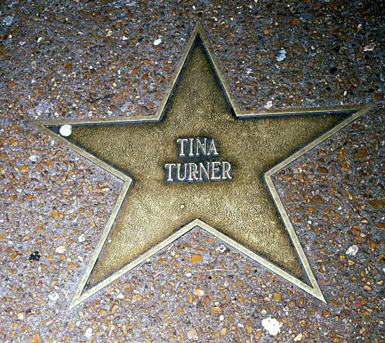 The St. Louis Walk of Fame - Tina Turner