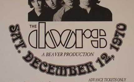 The Warehouse – Last Concert For Jim Morrison With The Doors
