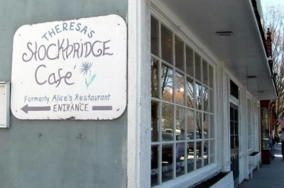 "Theresa's Stockbridge Cafe, Inspiration For ""Alice's Restaurant Massacree"" By Arlo Guthrie"