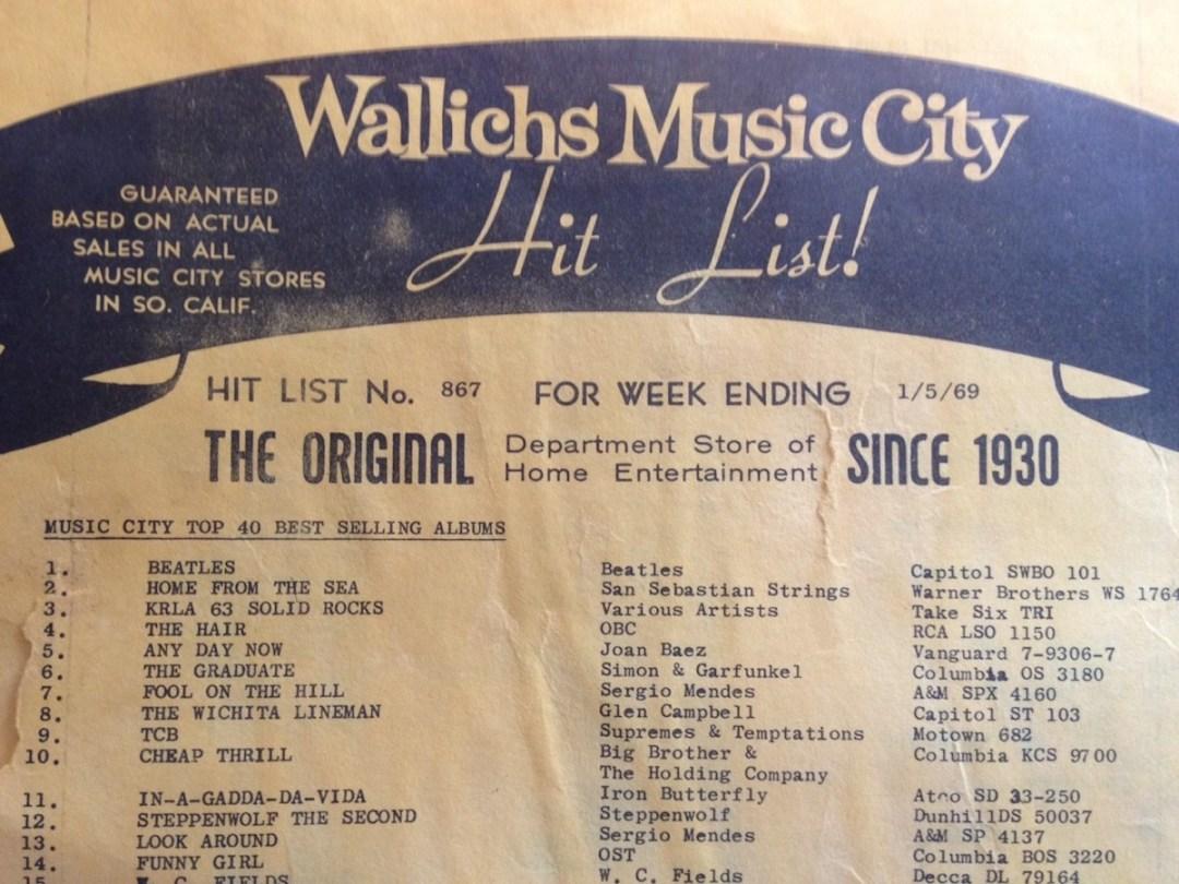 Wallich's Music City West Covina