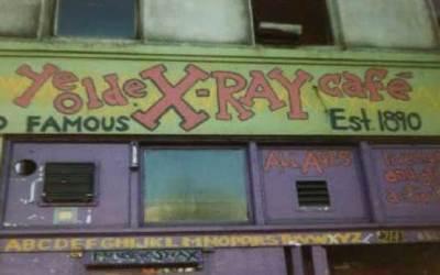 X-Ray Cafe Former Location In Portland Oregon