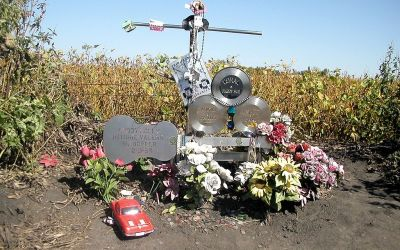 The Plane Crash Site Where Buddy Holly, Ritchie Valens & Big Bopper Died