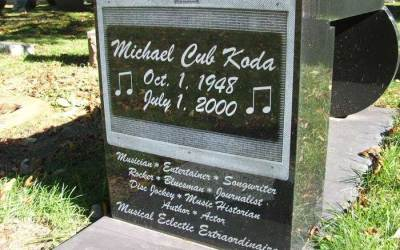 "Buried Here – Michael ""Cub"" Koda,  Lead Singer & Guitarist For Brownsville Station"