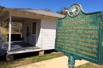 Elvis Presley Birthplace In Tupelo