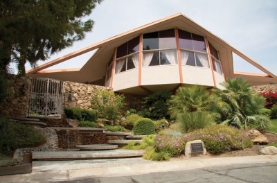 Elvis and Priscilla's Honeymoon Home In Palm Springs California