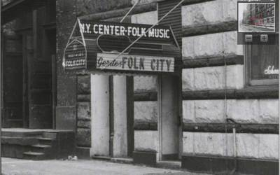 Gerde's Folk City – Dylan's first professional gig