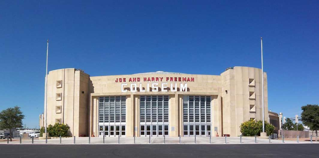 Freeman Coliseum Picture