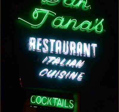 "Dan Tana's Restaurant – Lyrics To The Eagle's ""Lyin' Eyes"" Written Here"