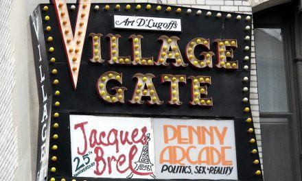 Village Gate Nightclub in Greenwich Village