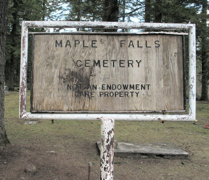 Maple Falls Cemetery