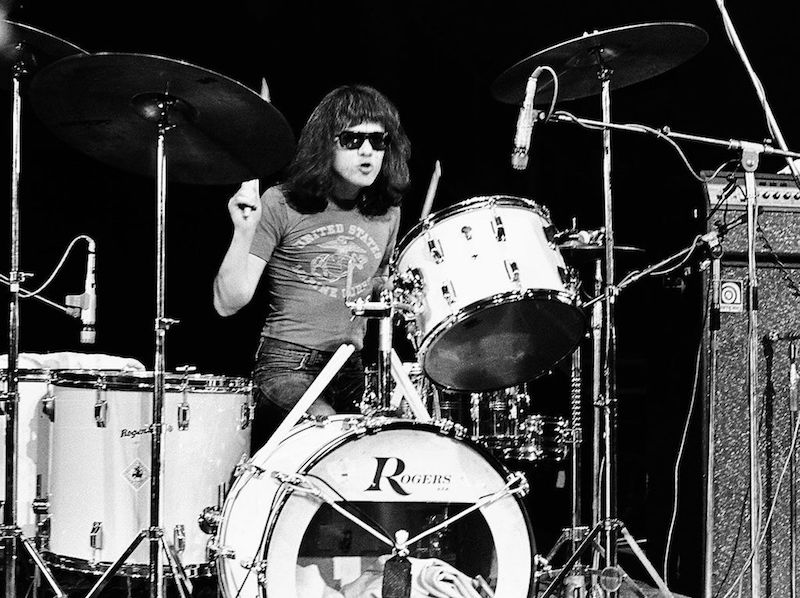 Tommy Ramone On Drums