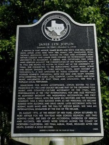 Janis Joplin Historical Marker