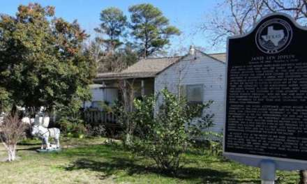 Janis Joplin's Childhood Home In Port Arthur
