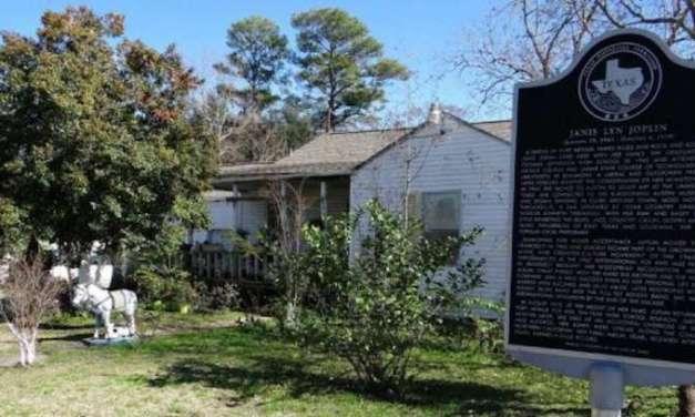 Janis Joplin's Childhood Home In Port Arthur