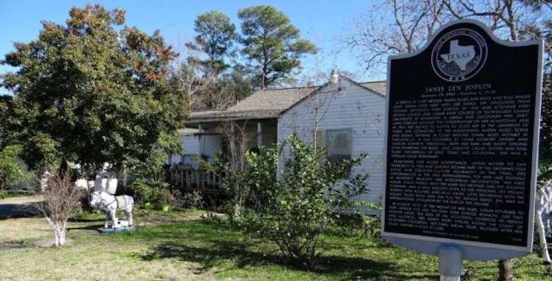 Janis Joplin Home In Port Arthur