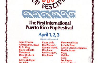 Mar y Sol Pop Festival – The Puerto Rican Woodstock & Billy Joel Breakthrough Performance