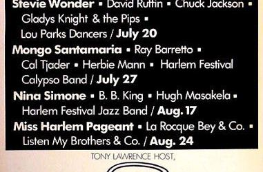 The Harlem Cultural Festival, Also Known As Black Woodstock