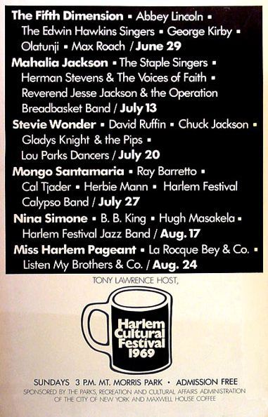 Harlem Cultural Festival Poster