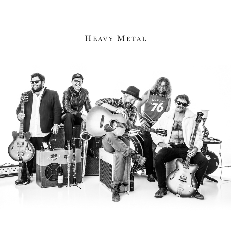 Miles Nielsen & The Rusted Hearts - Heavy Metal (2016)