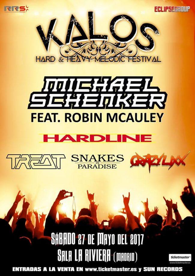 KALOS - Festival de Hard Rock y Rock Melódico (Recordatorio)