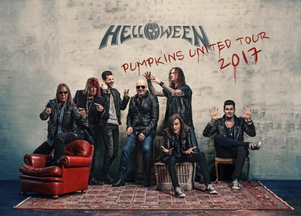 HELLOWEEN - La reunión llegará a España