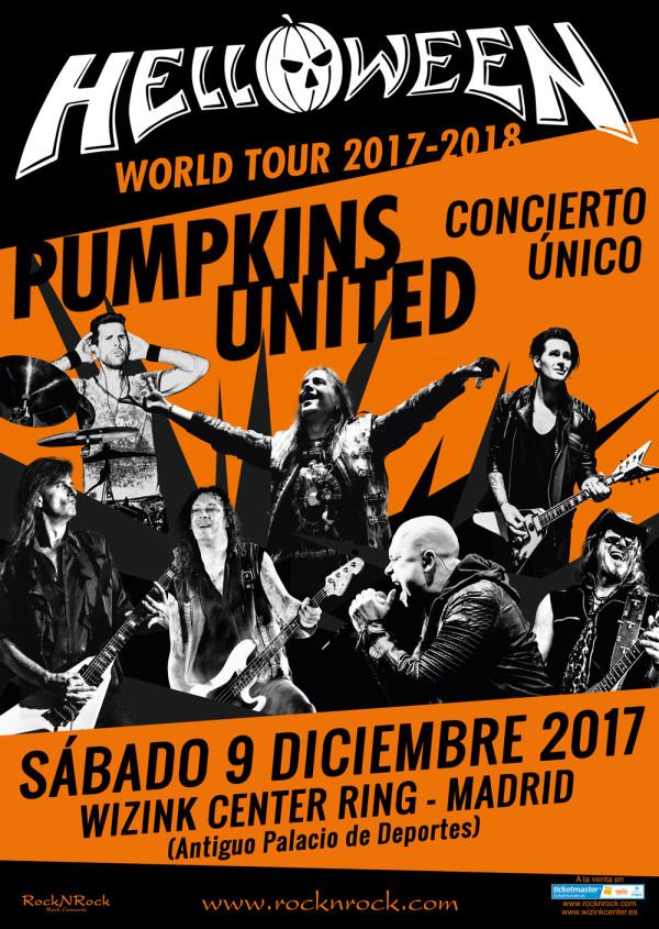 HELLOWEEN - Grabación concierto de Madrid