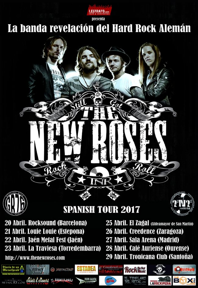 THE NEW ROSES en concierto!