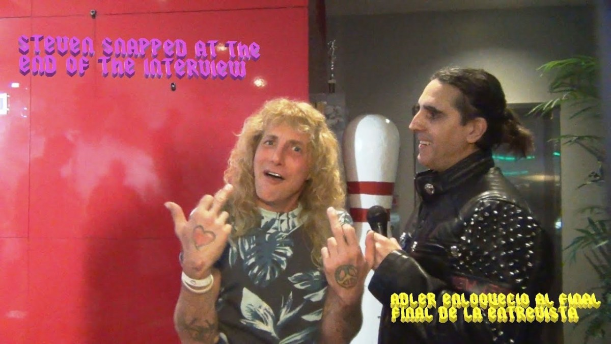 STEVEN ADLER (ex Guns and Roses) - Entrevista / Interview