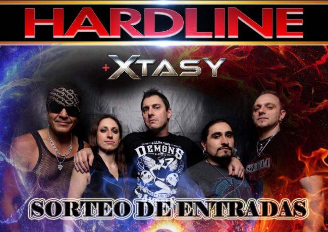 SORTEAMOS ENTRADAS PARA HARDLINE + XTASY