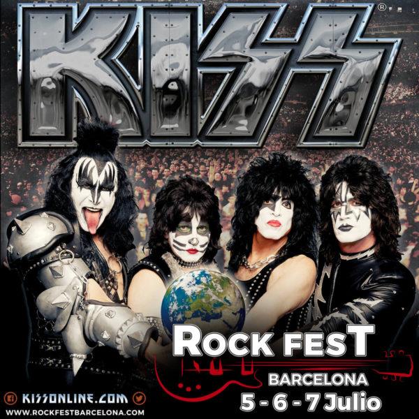 OZZY y KISS cabezas de cartel del ROCK FEST BARCELONA 2018