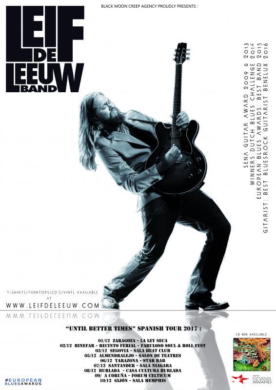 LEIF DE LEEUW BAND en concierto!