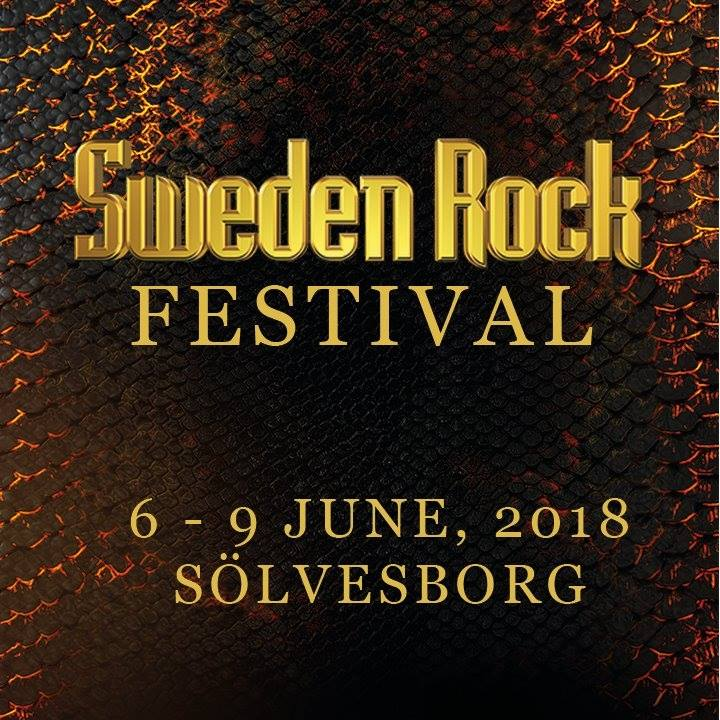 SWEDEN ROCK FESTIVAL 2018 - Horarios / Time schedule
