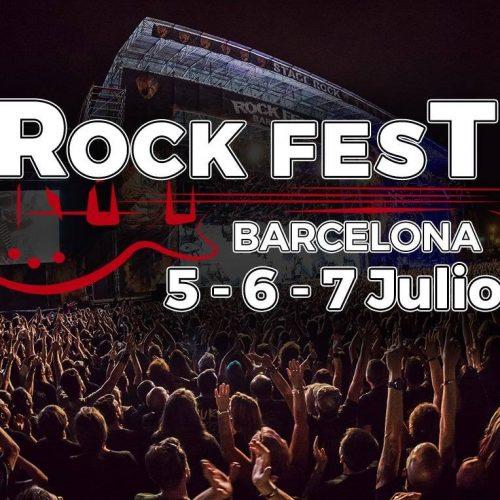 ROCK FEST BARCELONA 2018 - Distribución por días