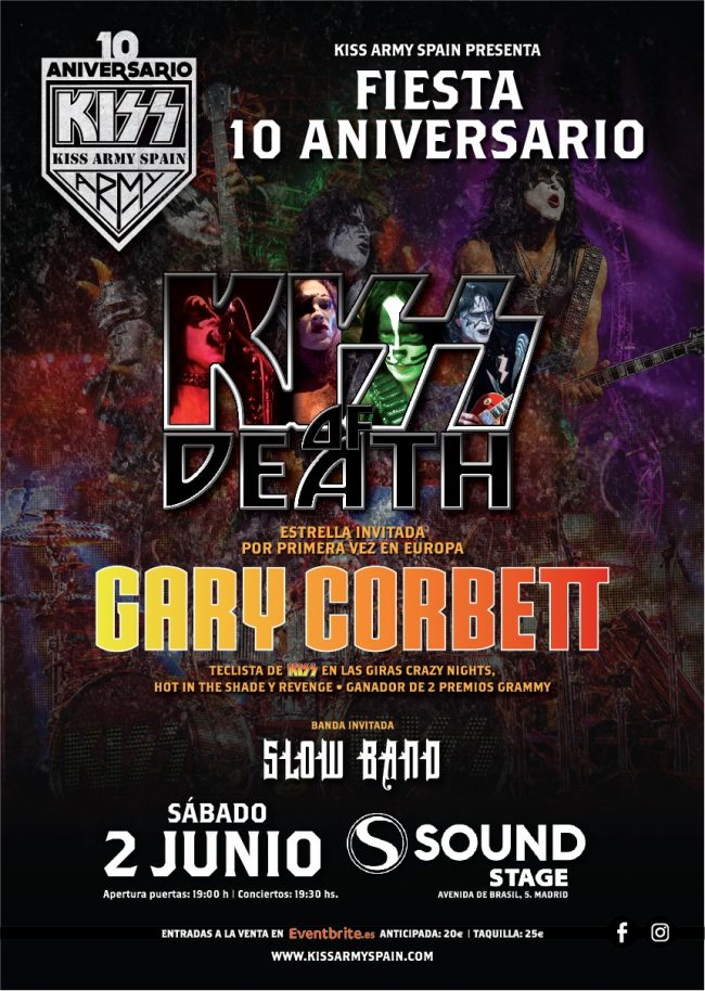 KISS ARMY SPAIN - Fiesta 10º aniversario