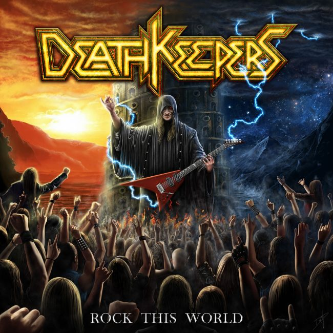 DEATH KEEPERS – Rock this world (2018)