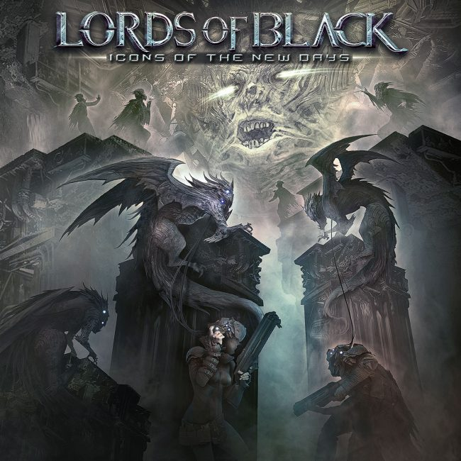 LORDS OF BLACK - Icons of the new days (2018)