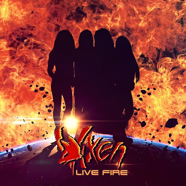 VIXEN edita disco en directo!