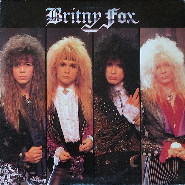 BRITNY FOX - Britny Fox (1988)