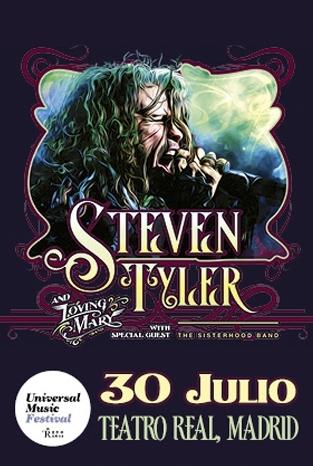 STEVEN TYLER en Madrid