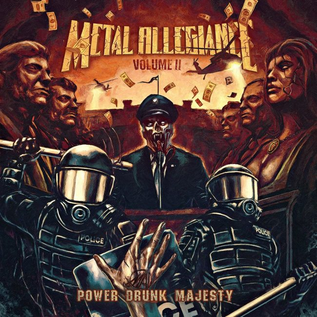 METAL ALLEGIANCE VOL. II - Power Drunk Majesty (2018)