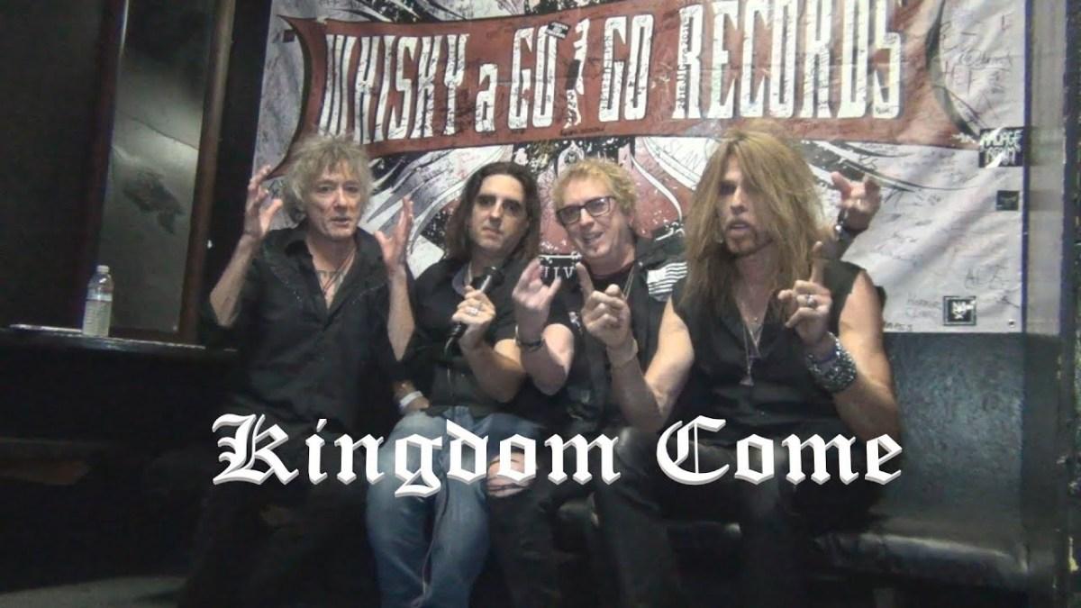 KINGDOM COME - Crónica y Video Entrevista / Interview (english)