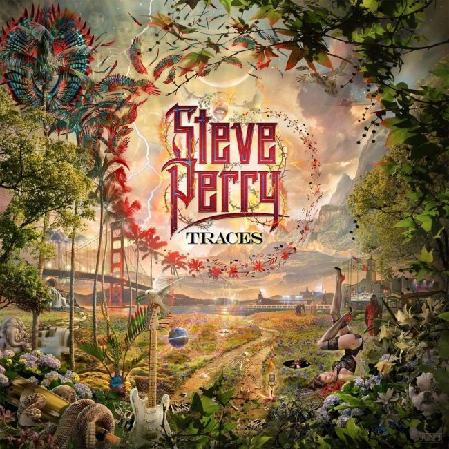 STEVE PERRY - Traces (2018) - English v. review -